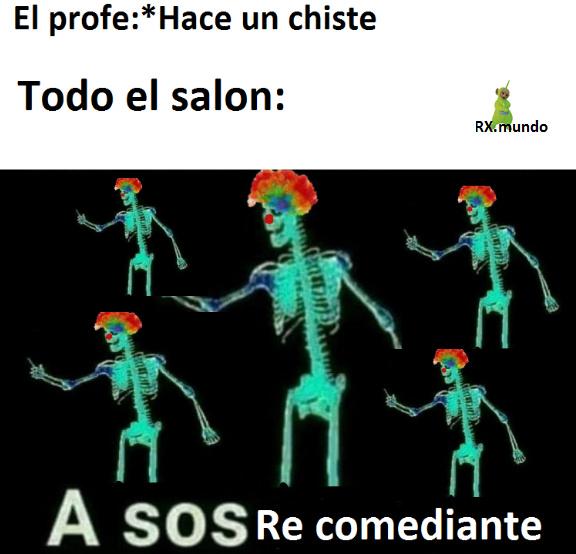 A sos don comedias - meme