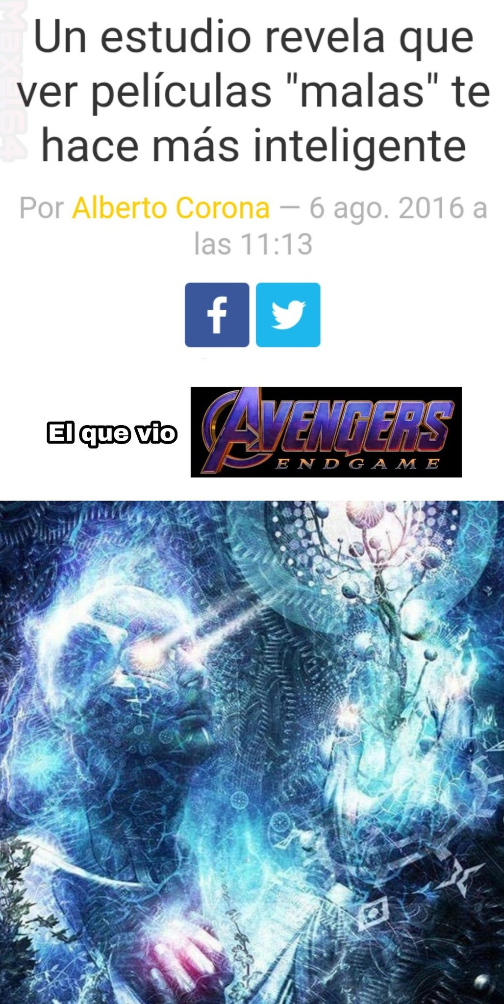 Un asco - meme