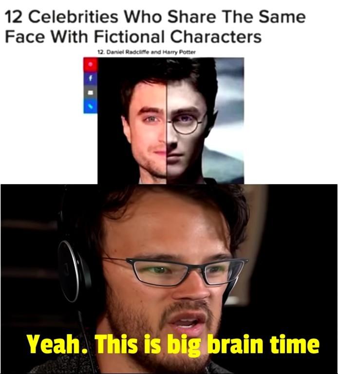 B I G  B R A I N  T I M E - meme