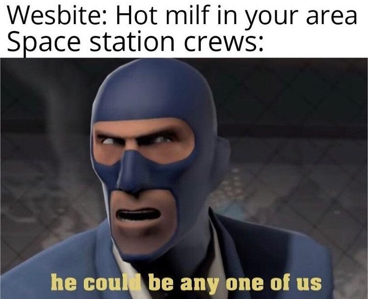 HOT MILFS IN SPACE - meme