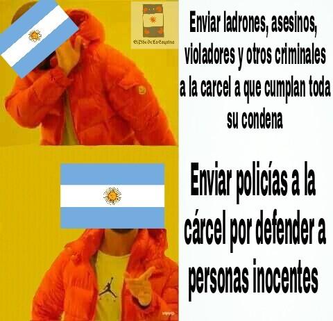 Un país con buena gente - meme