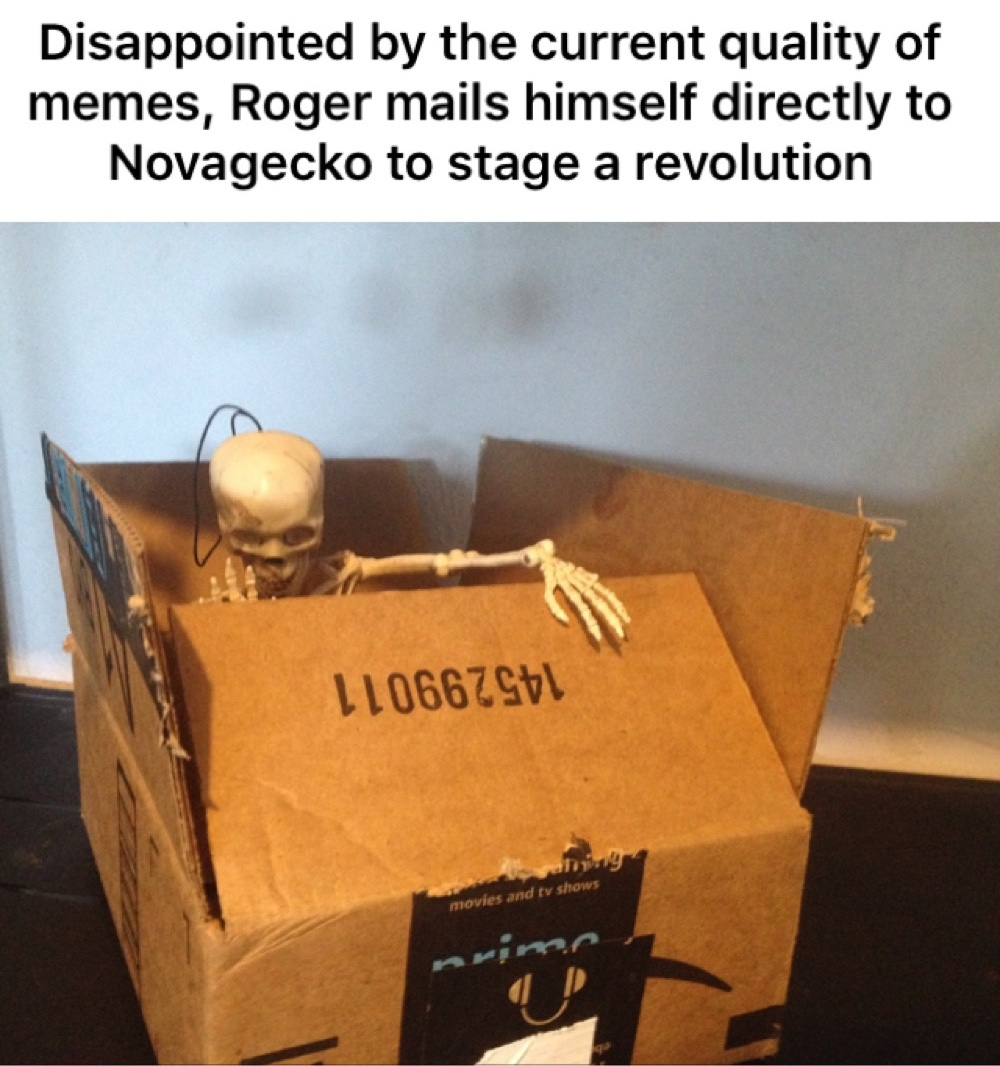 The Roger Contest is coming soon - meme