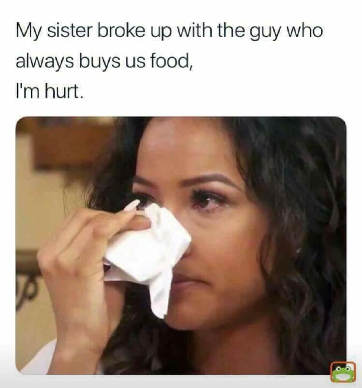 I'm always buying food - meme