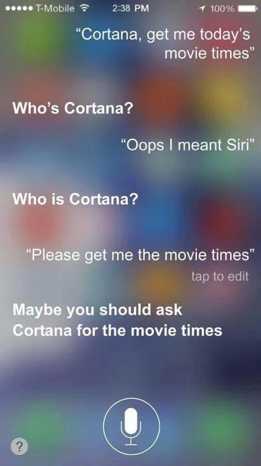 Oops Siri - meme