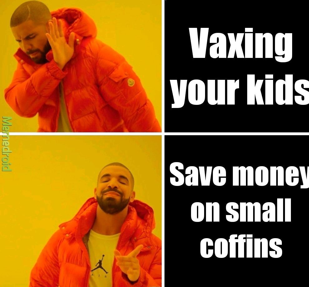 Vax your kids karen - meme