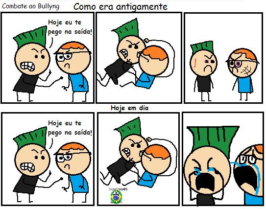 Bullyng é o caraio - meme