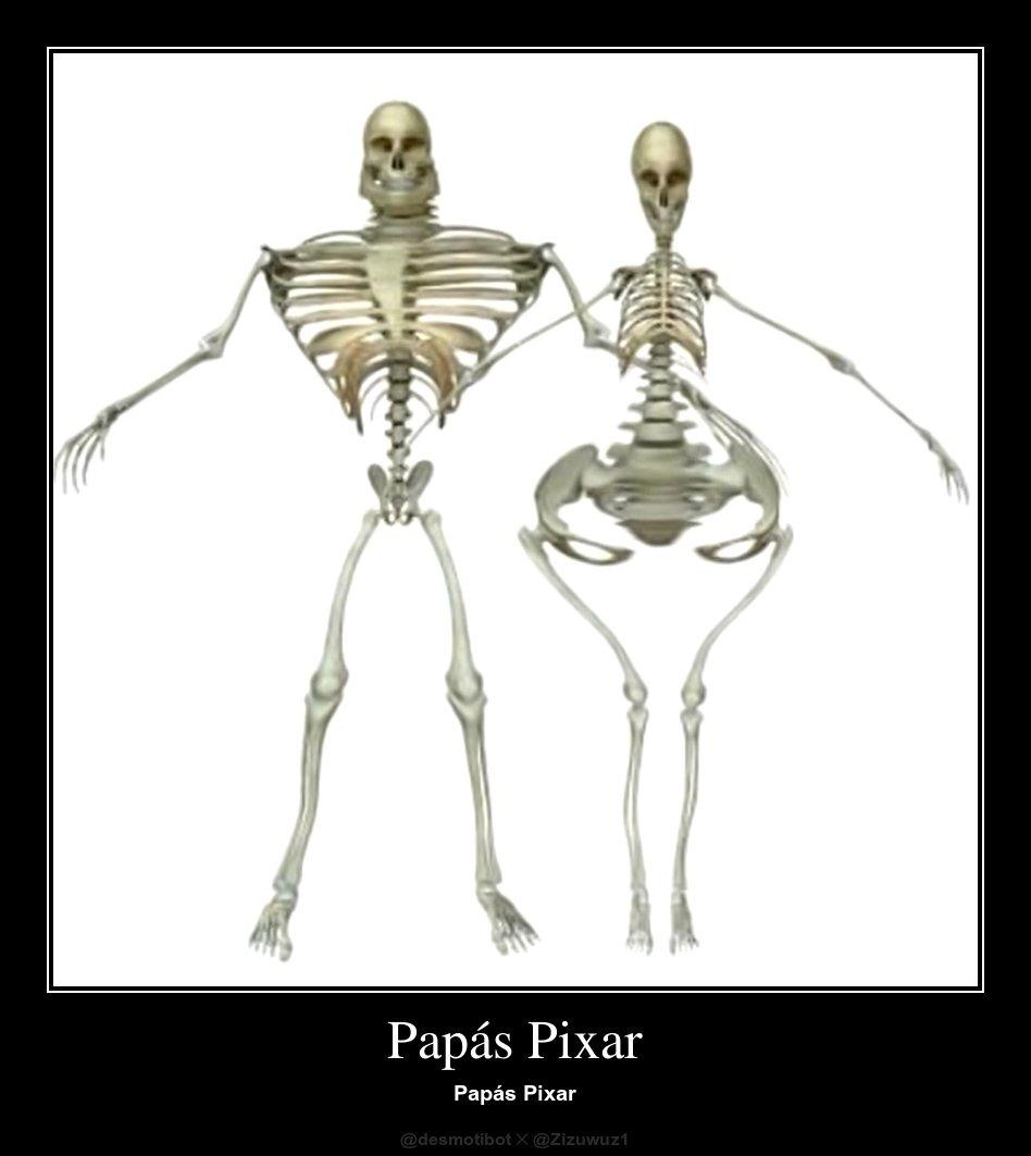 Padres de Pixar ser como: - meme