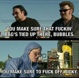 Fuck off Ricky - meme