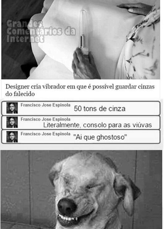 Ghostoso kkkkk - meme