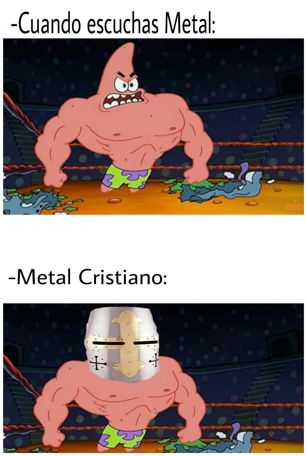 Jesucristo el Metalero. - meme
