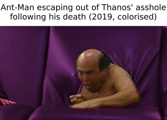 Endgame spoilers - meme