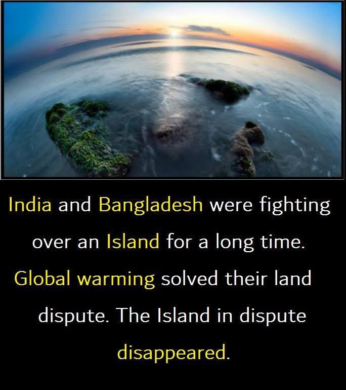Global warming isn't always bad - meme