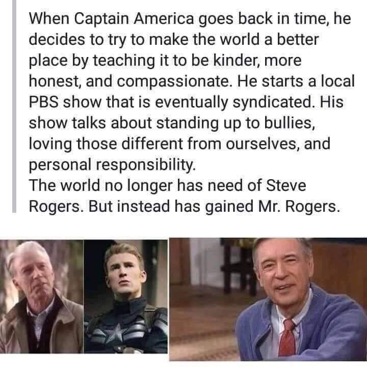 Captain America's Neighborhood - meme