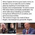Captain America's Neighborhood