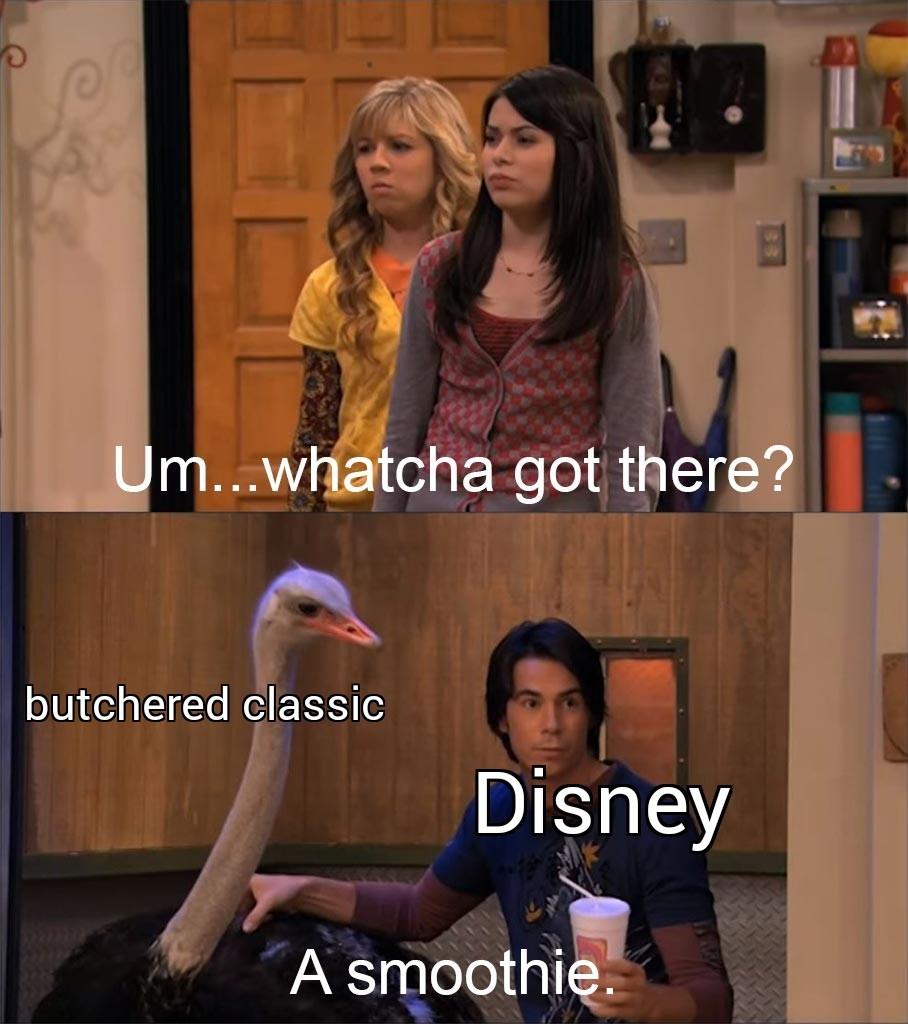 Watcha got there Disney? - meme