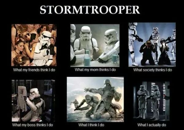 Storm Trooper anyone? - meme