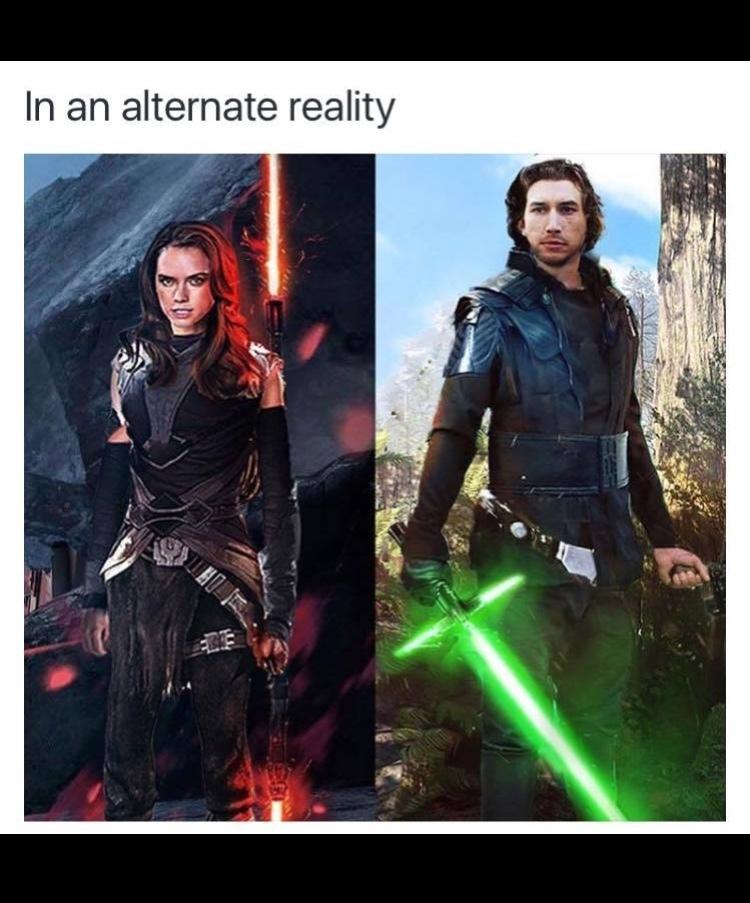 Star Wars 7 in an alternate universe - meme