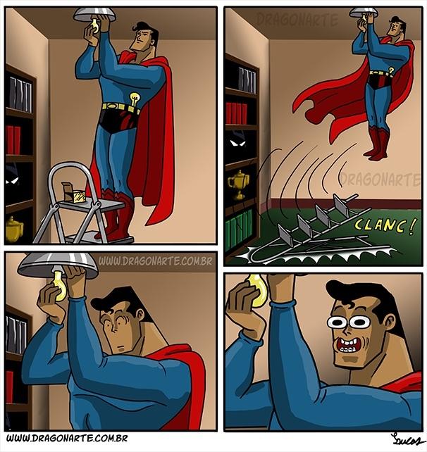 Être Superman ça a des avantages - meme