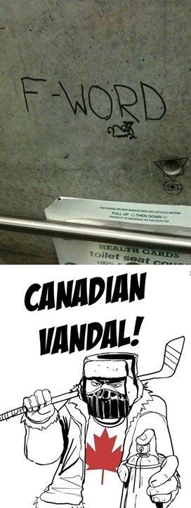 calm down Canada - meme