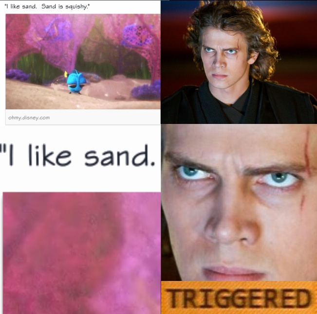 i don t like sand quote