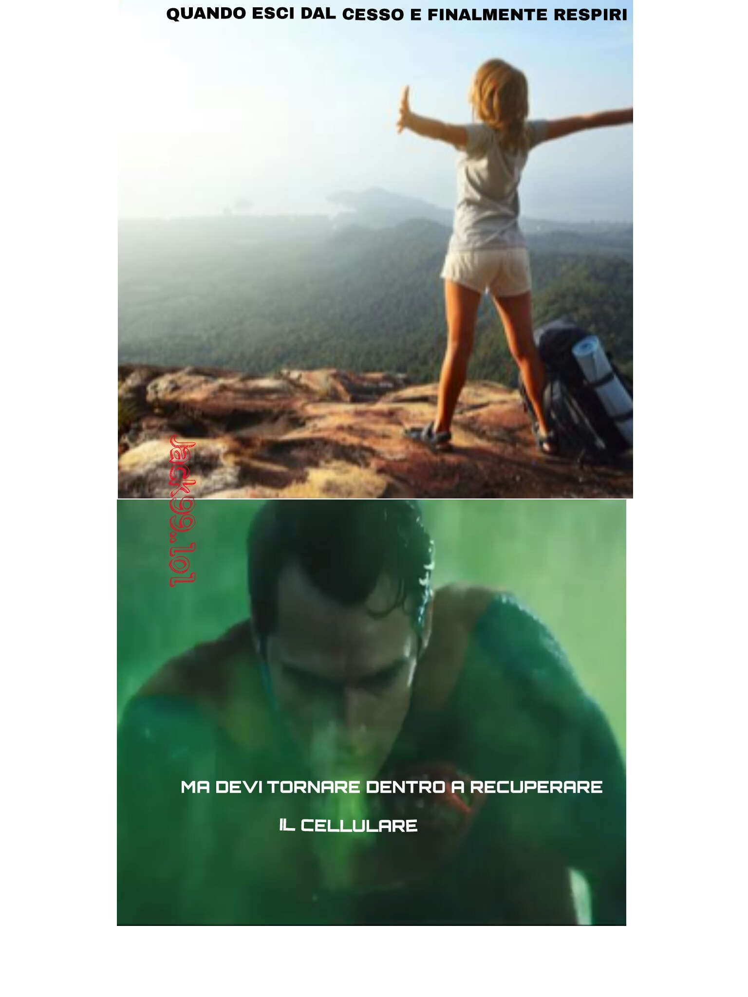 Poor superman - meme
