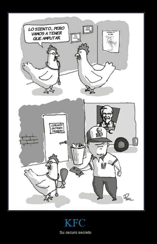 KFC  Me fallaste :p - meme