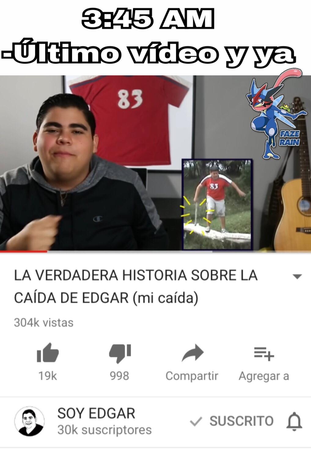 Edgar :') - meme