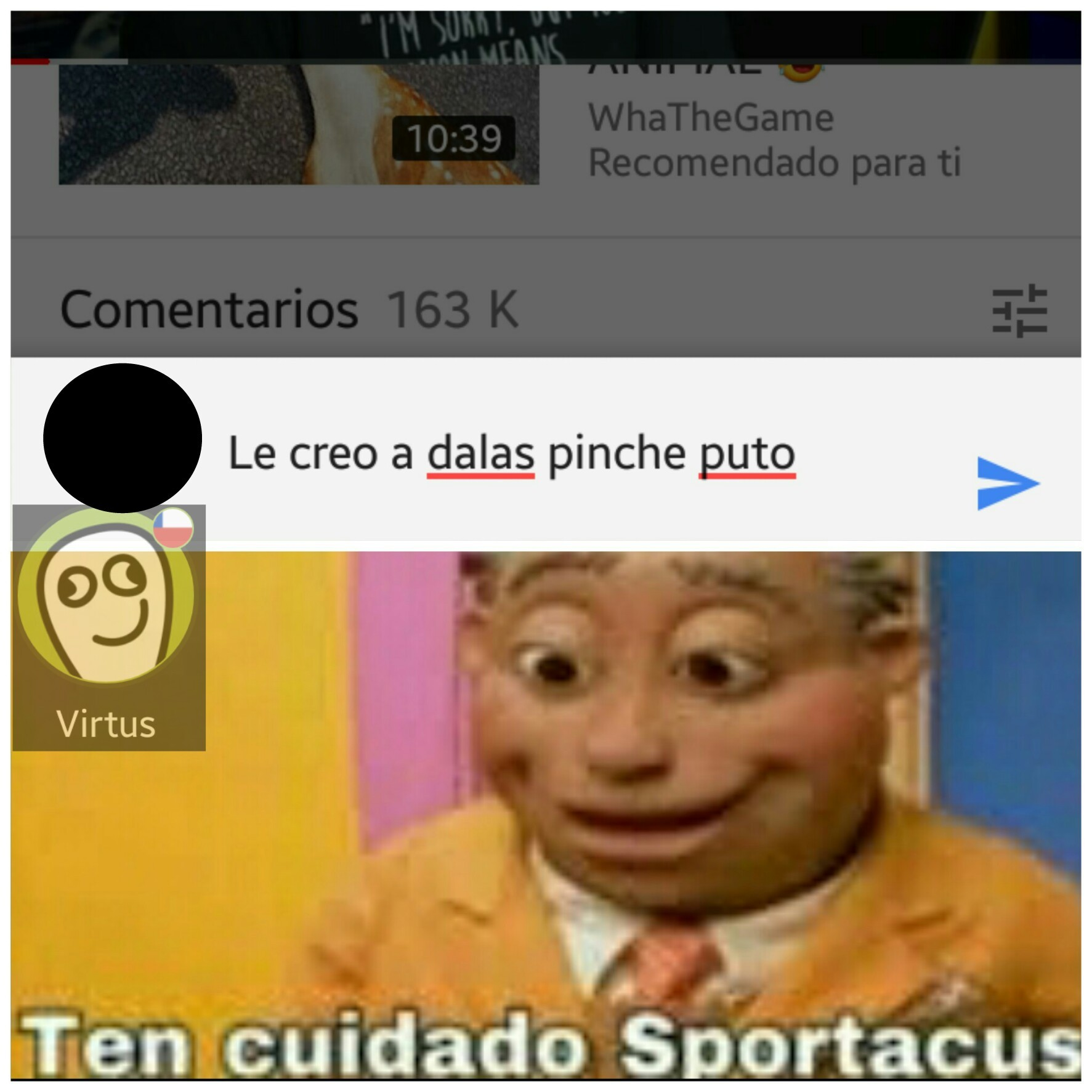 (Video de Wismichu) - meme