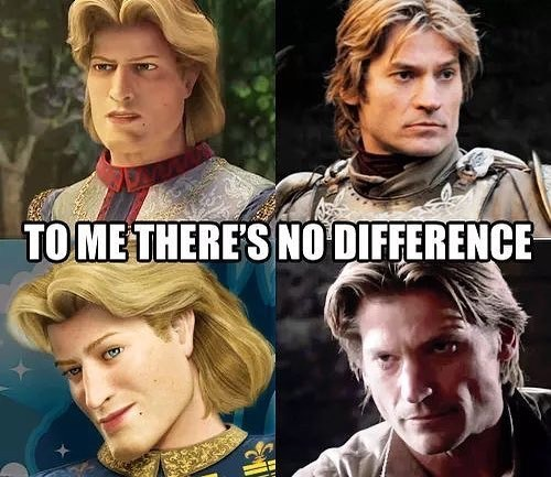 no difference - meme