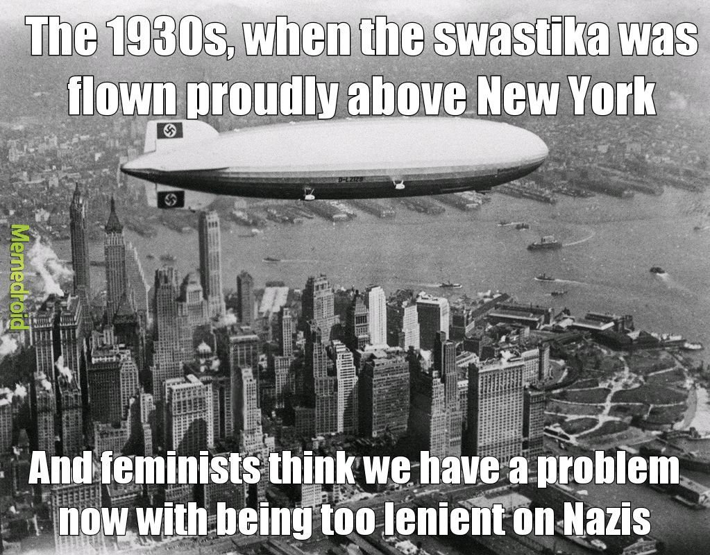 1930s New York - meme
