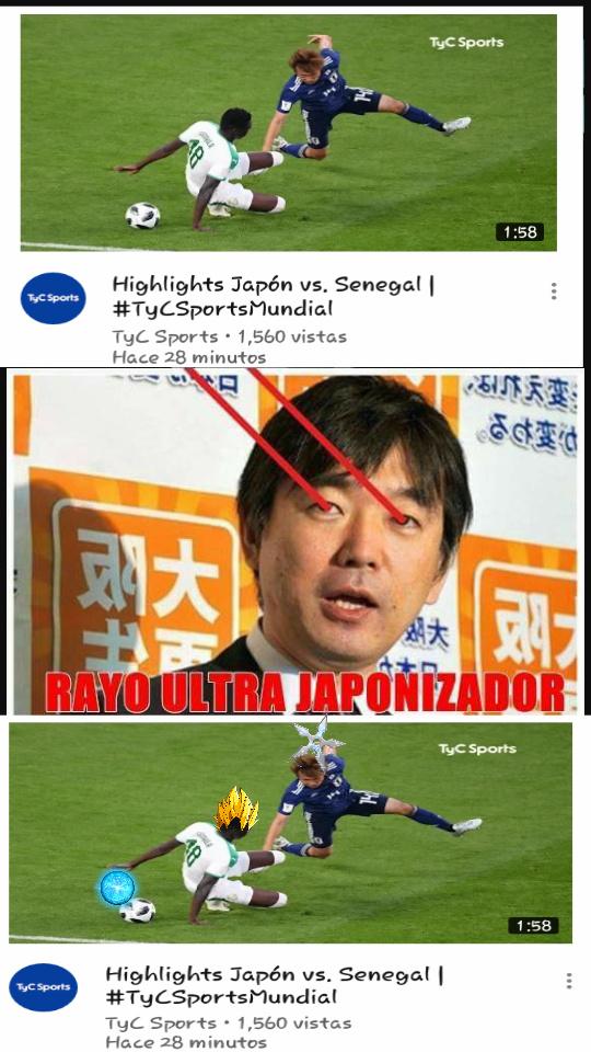 Raio japonizador v:< - meme