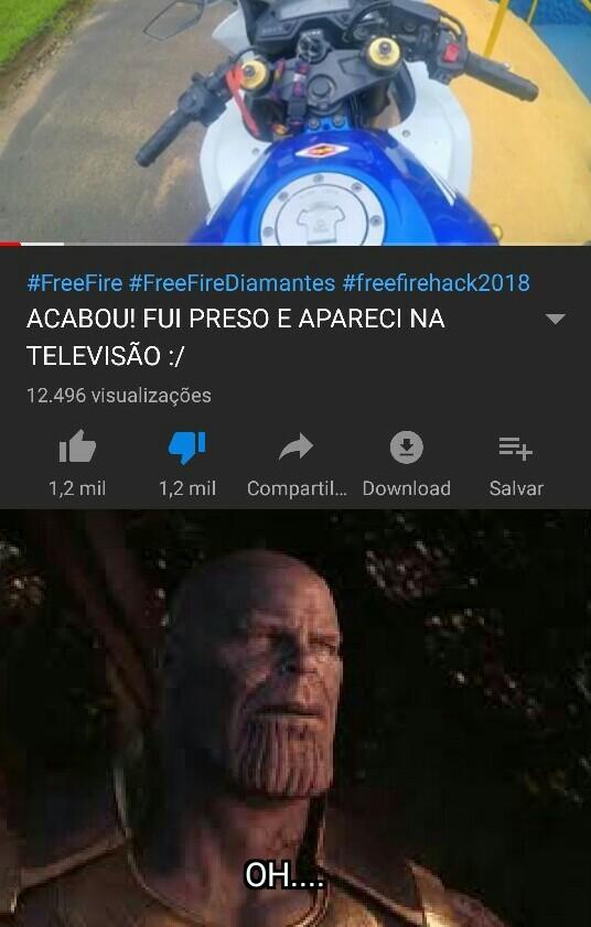 perfeito equilíbrio - meme