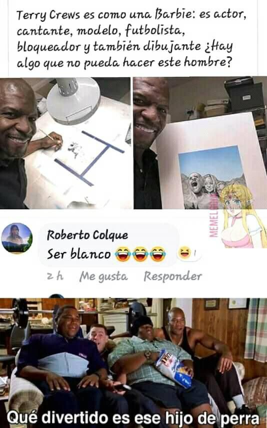 El hombre de Olé Spiece es único - meme