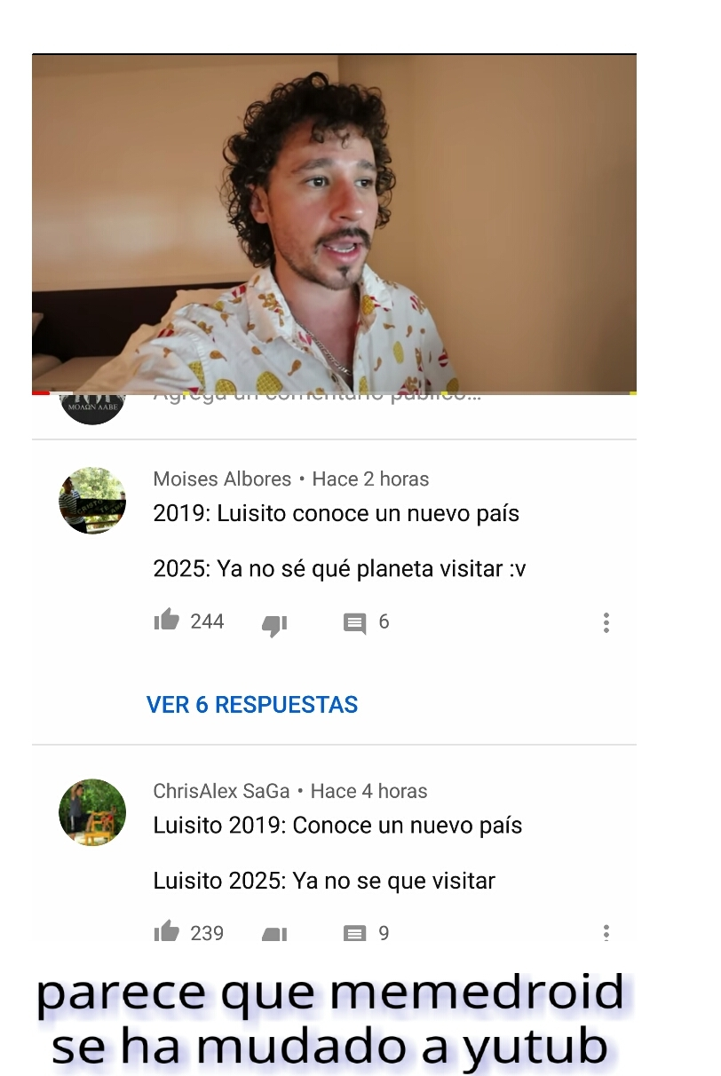 Luisillo el pillo - meme