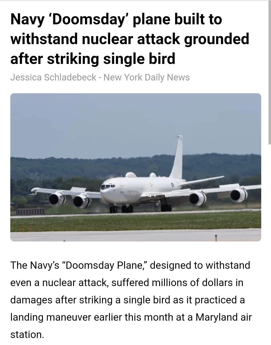 Technically it wasn't a nuclear attack - meme