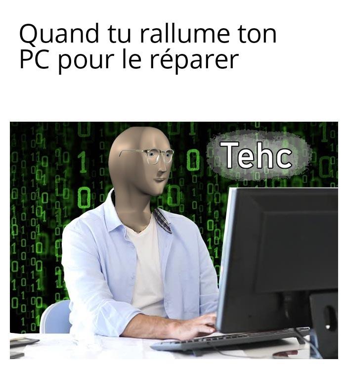 Tehc - meme