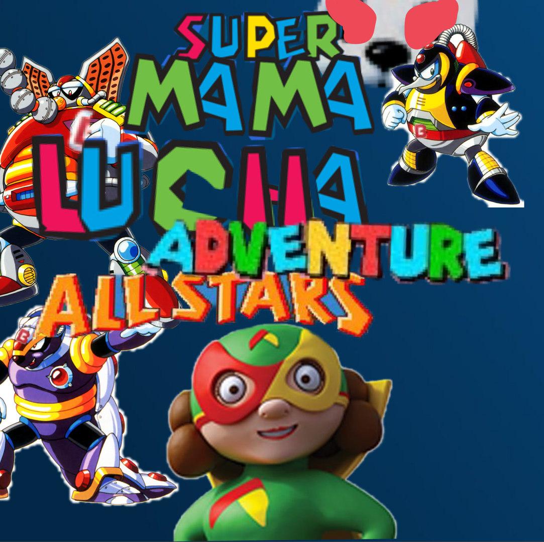 Super mama lucha adventure all stars - meme