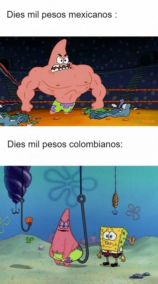 Pesos - meme