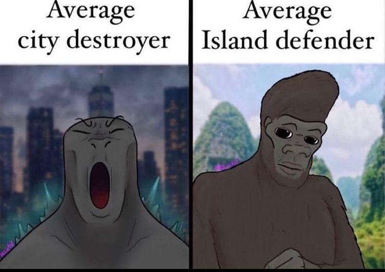 godzilla would totally still win - meme