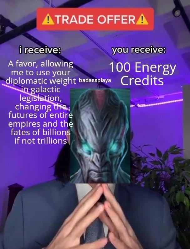 Sounds fair - meme