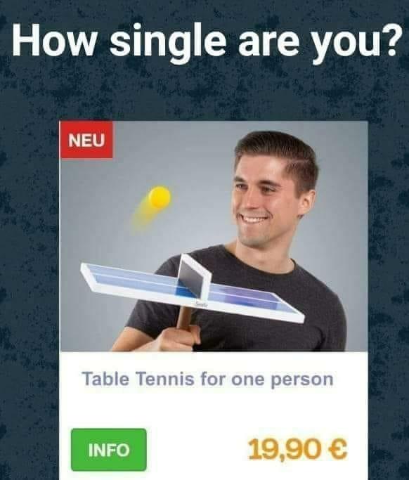 How single - meme