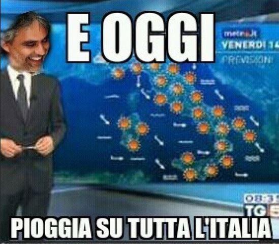 Pioggia - meme