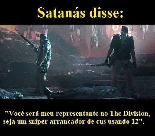 Satanas dise carai - meme
