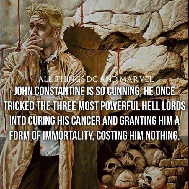 Constantine is a badass - meme