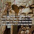 Constantine is a badass