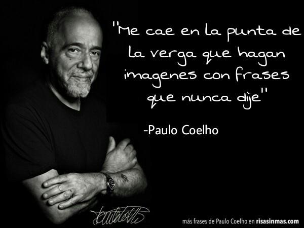 -Paulo Coelho - meme