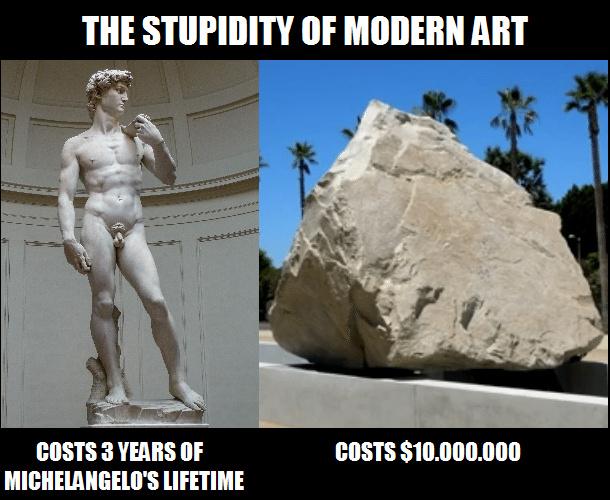 "MODERN ""ART"" - meme"