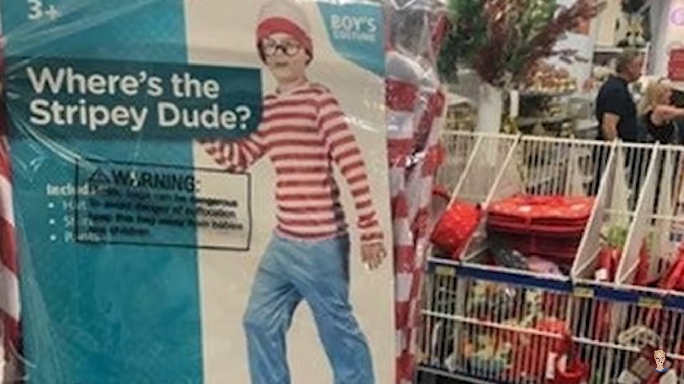 Where's the stripey dude? - meme