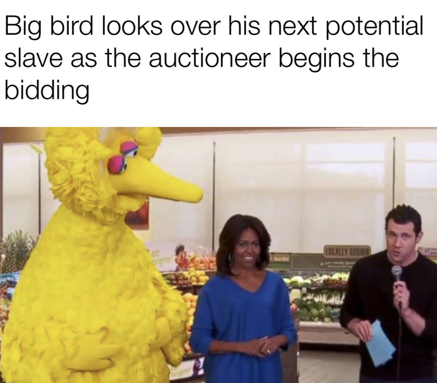 Big Bird - meme