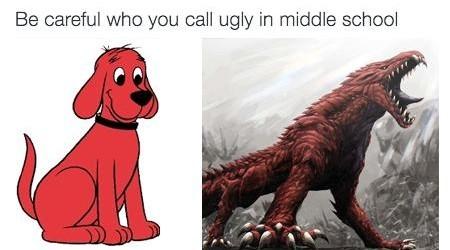 Angery Sharp Doggo - meme